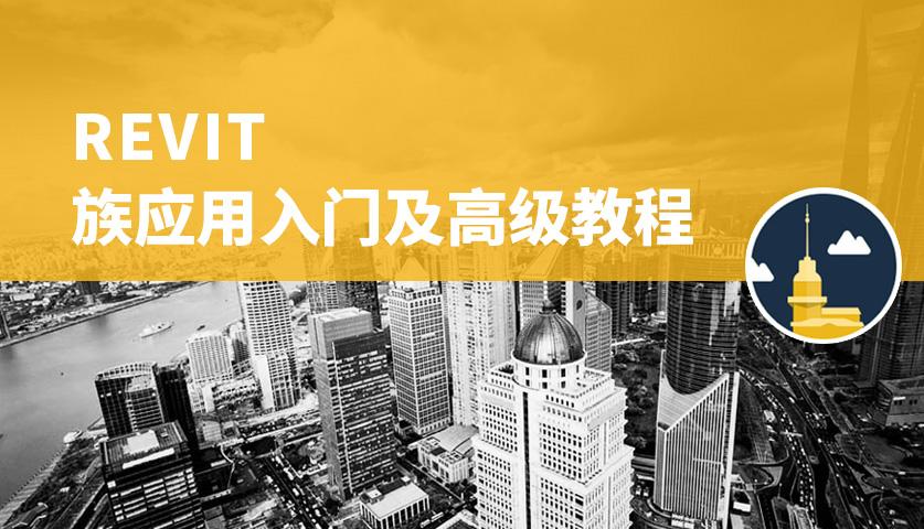 深圳Revit 族应用入门及高级教程