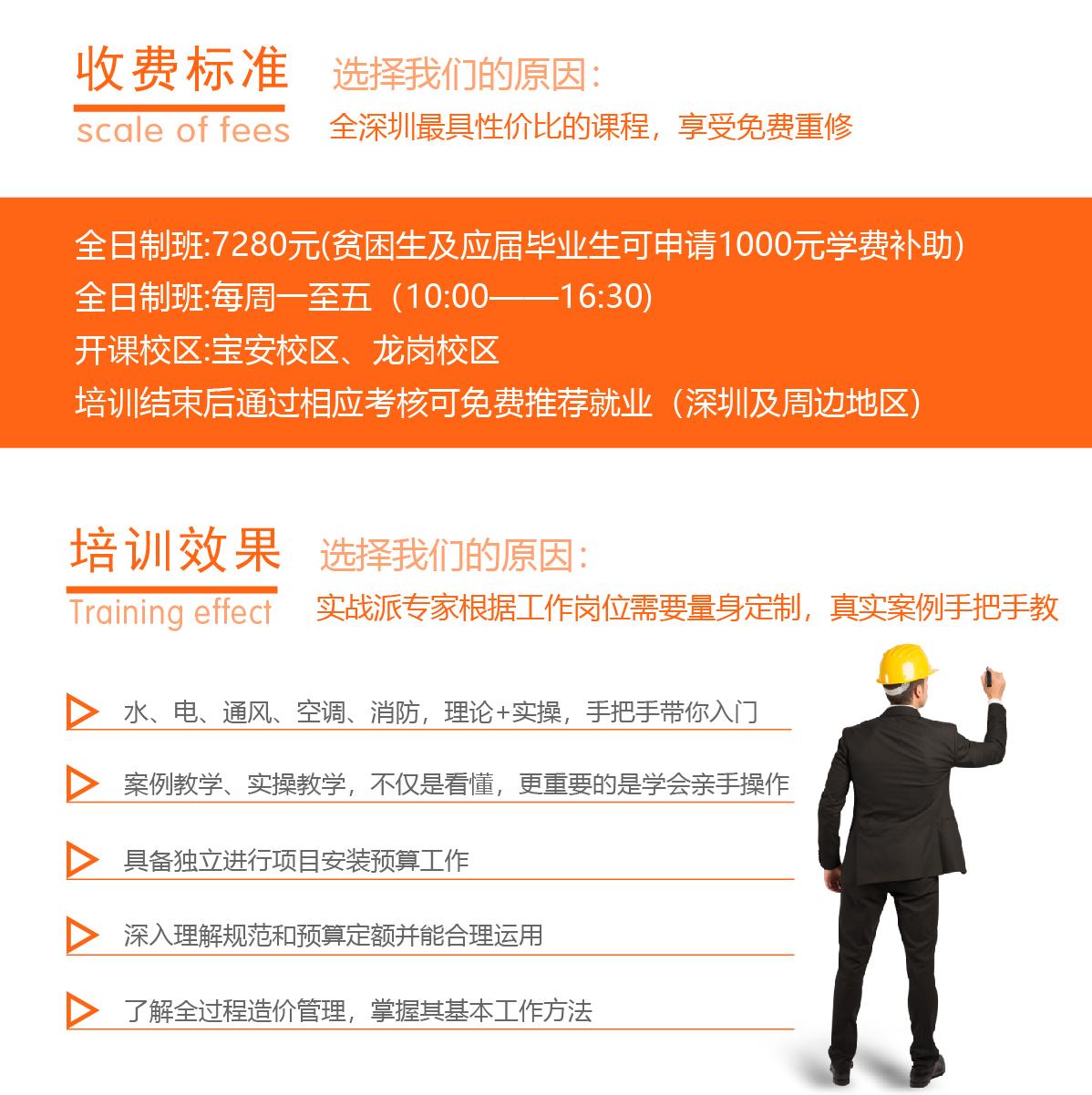 深圳安装造价培训